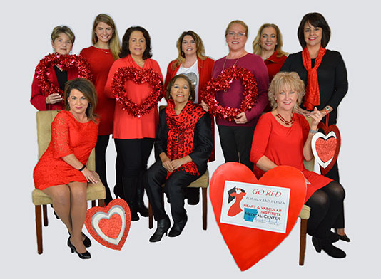 Go Red for Women Board