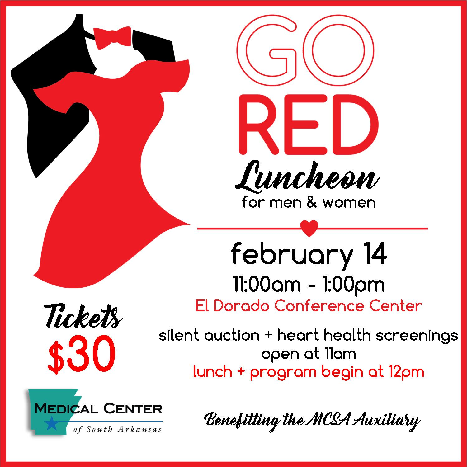Go Red Save the Date
